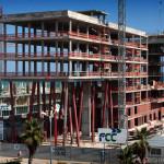 Construcció Hotel Ibis. (Mataró, 2009)