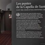 Exposició de Les puntes de la Capella de Sant Jordi. (Arenys de Mar, 2012)