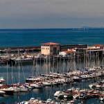 Vista del port d'Arenys de Mar. (2012)